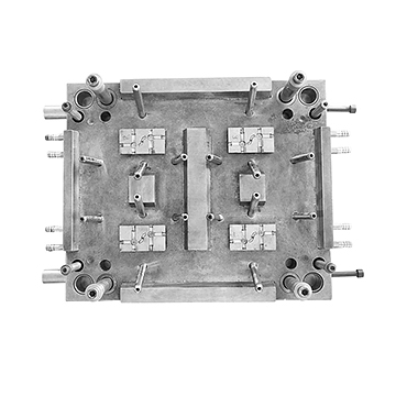 8-cavity three-way valve body top mould