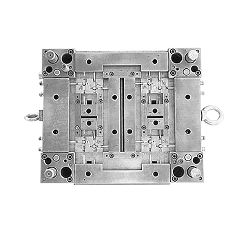8-cavity three-way valve body bottom mould